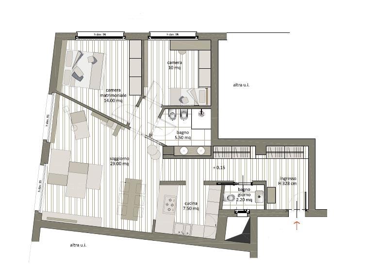 Appartamento in vendita 105 mq 3 locali - Agenzia immobiliare porta romana ...