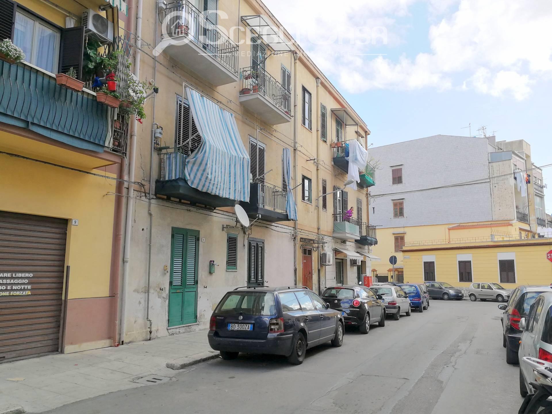 vendita appartamento palermo noce  49000 euro  2 locali  55 mq